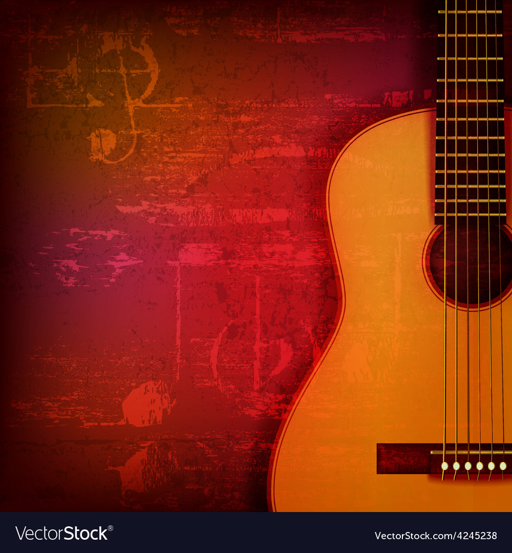 Abstract red sound grunge background with acoustic vector | Price: 3 Credit (USD $3)