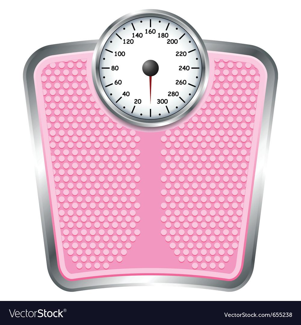 Bathroom scales vector | Price: 1 Credit (USD $1)