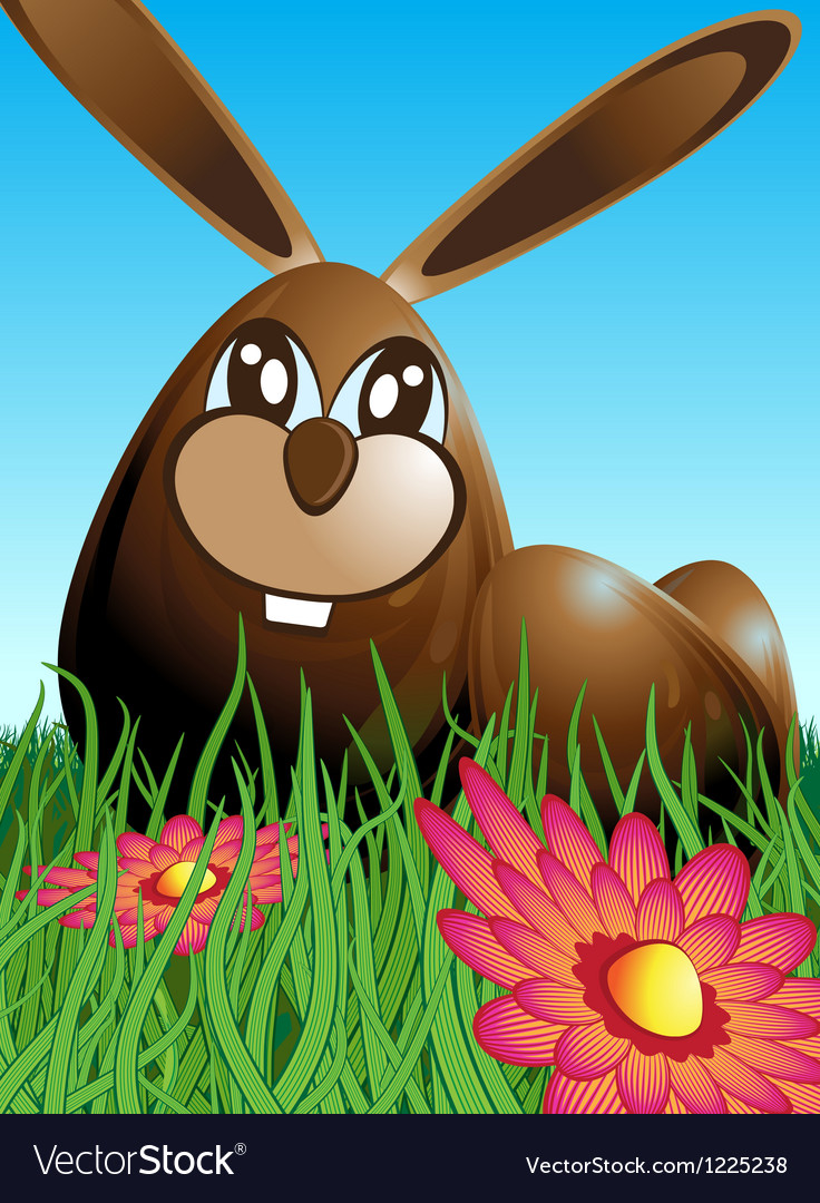 Chocolate easter egg vector | Price: 3 Credit (USD $3)