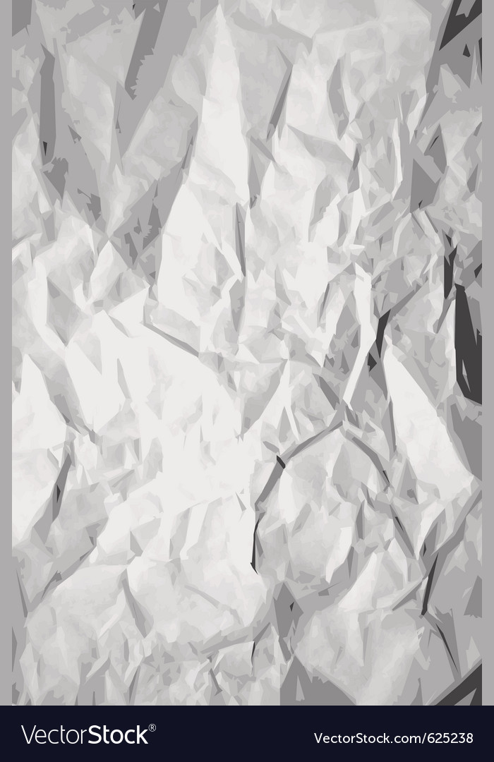 Crumpled paper texture vector | Price: 1 Credit (USD $1)