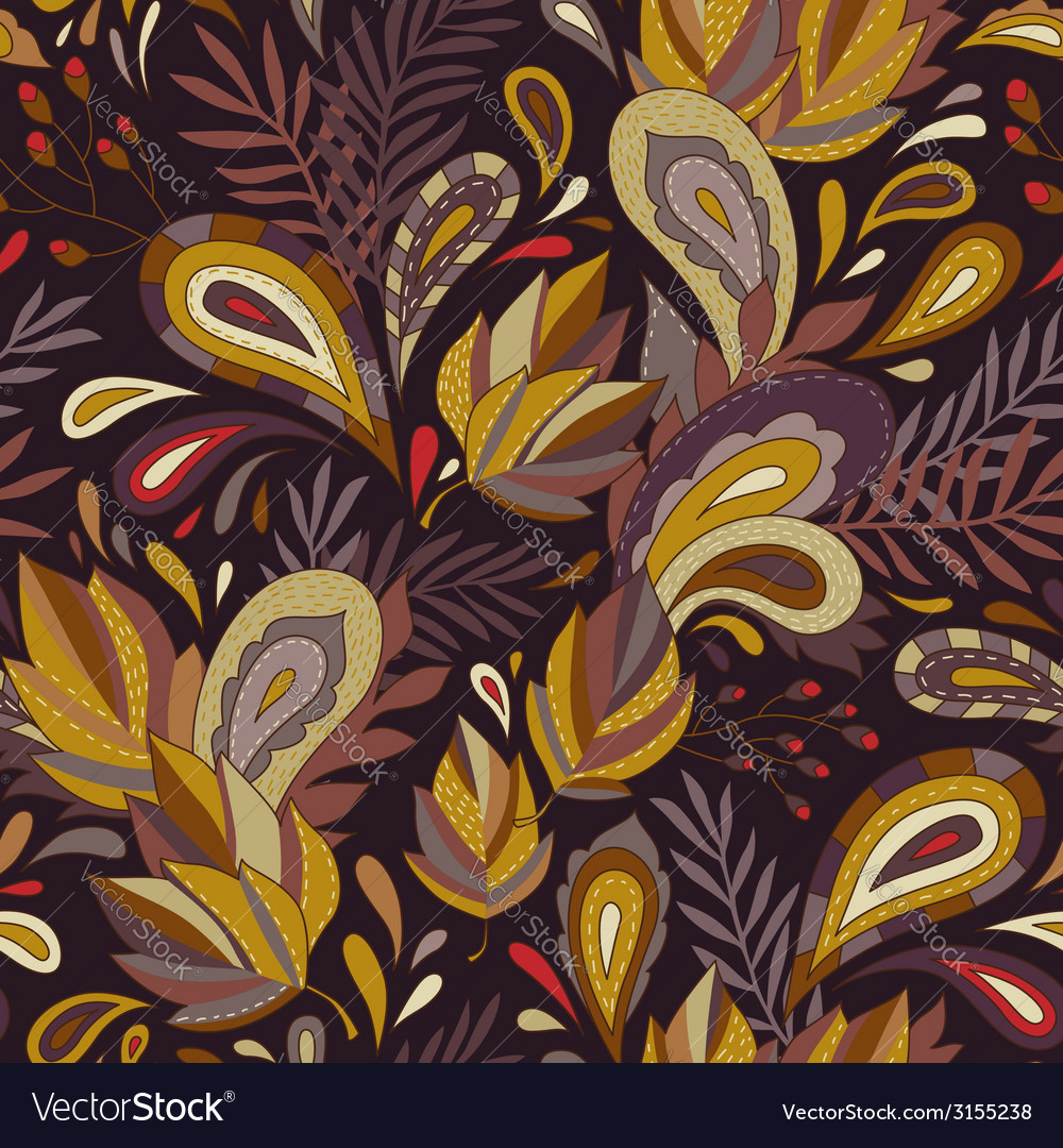 Pattern autumn vector | Price: 1 Credit (USD $1)