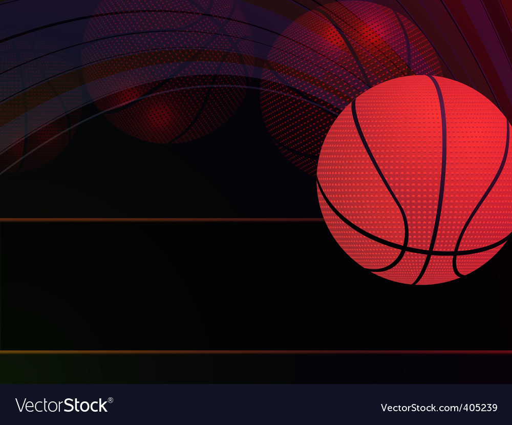 Abstract basketball background vector | Price: 1 Credit (USD $1)