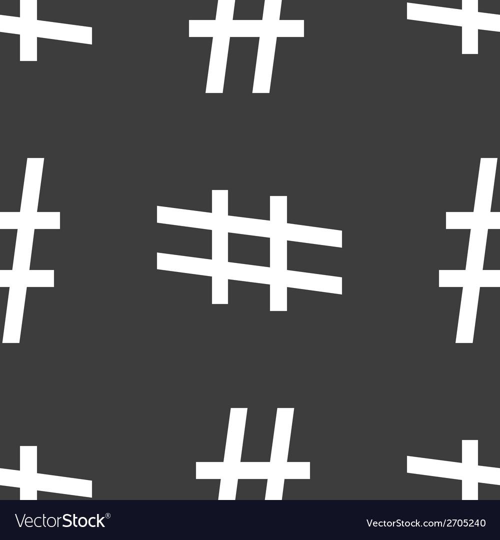 Sharp web icon flat design seamless pattern vector   Price: 1 Credit (USD $1)