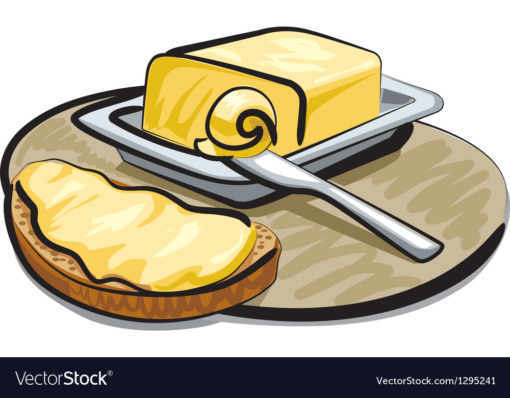 Butter vector | Price: 3 Credit (USD $3)