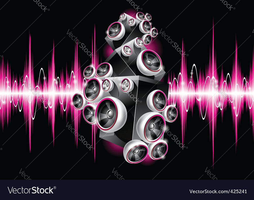Music design vector | Price: 3 Credit (USD $3)