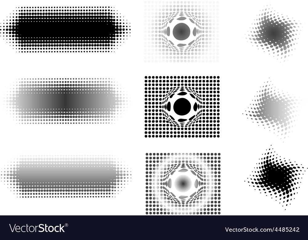 9 circular fades 4 vector | Price: 1 Credit (USD $1)