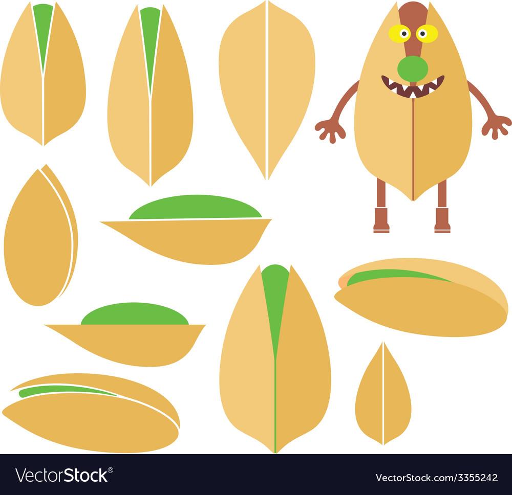 Pistachio vector | Price: 1 Credit (USD $1)