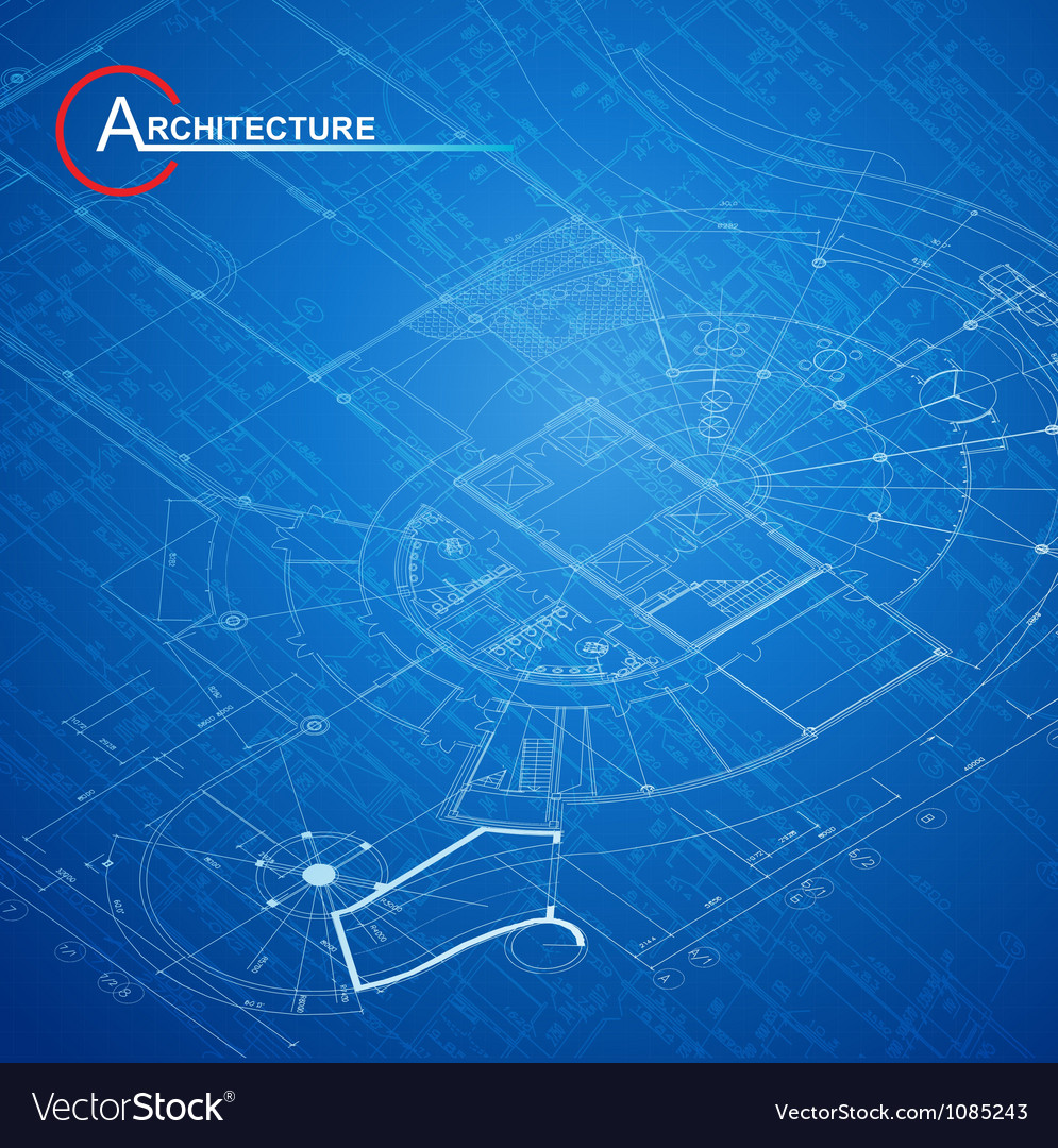 Architectural blueprint vector | Price: 1 Credit (USD $1)