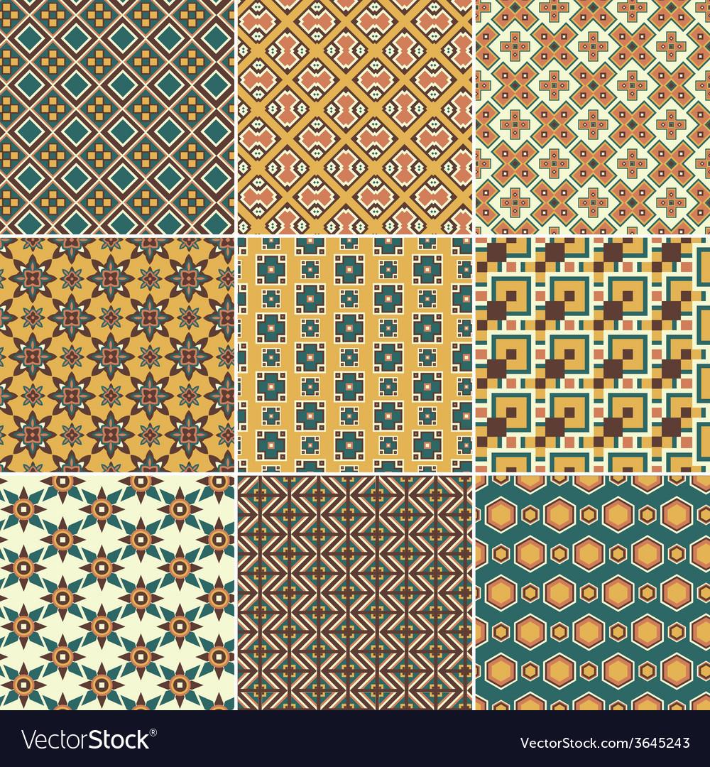 Pattern set vector | Price: 1 Credit (USD $1)
