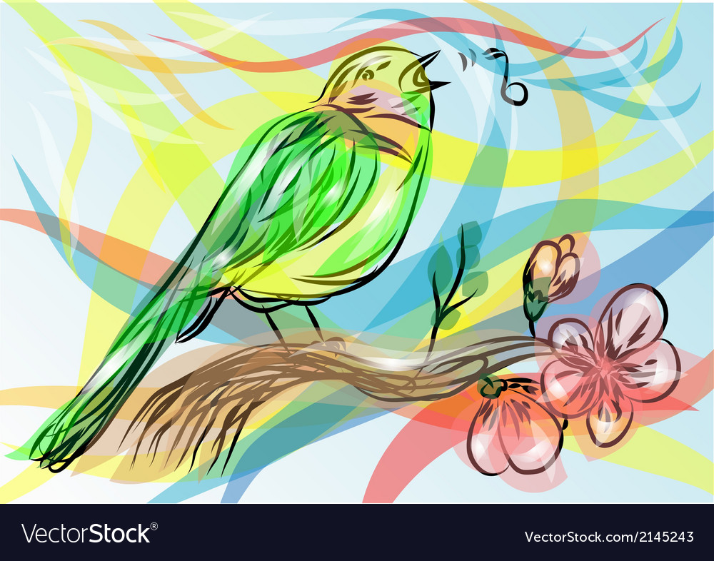 Songbird vector | Price: 1 Credit (USD $1)