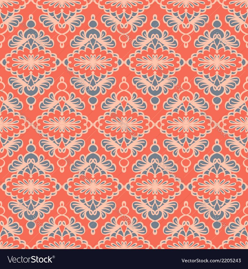 Vintage seamless pattern vector   Price: 1 Credit (USD $1)