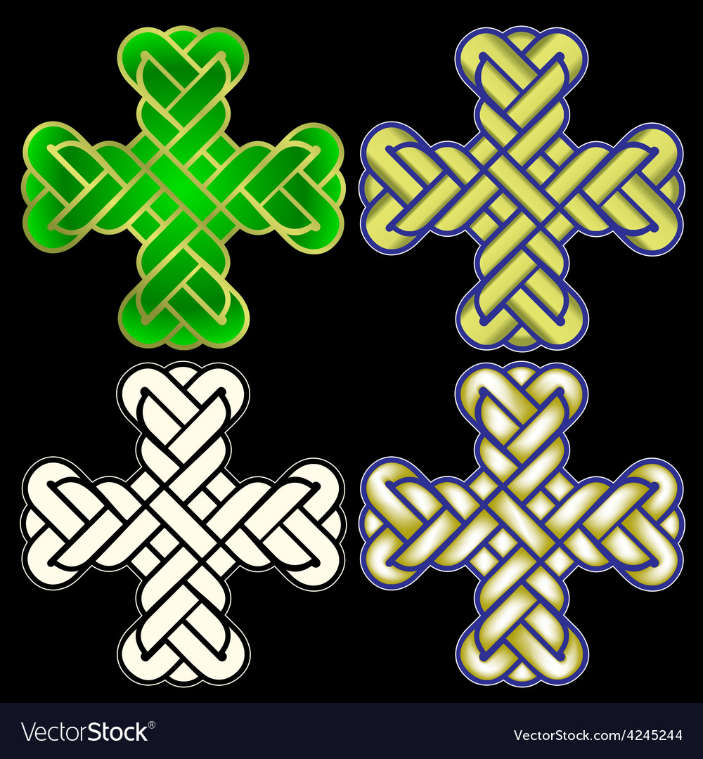 Twisted christian holy cross vector | Price: 1 Credit (USD $1)