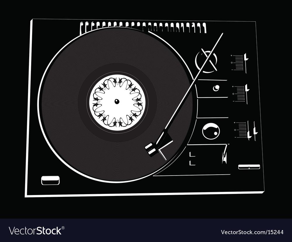 Vinyl deck vector | Price: 1 Credit (USD $1)