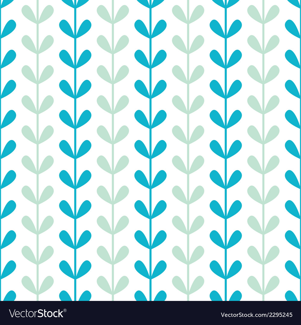 Abstract vines leaves seamless pattern background vector | Price: 1 Credit (USD $1)