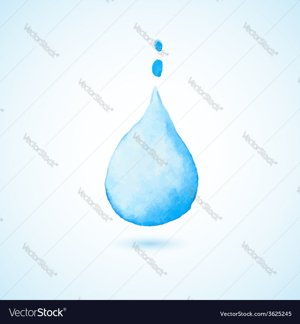 Background with blue drop vector | Price: 1 Credit (USD $1)
