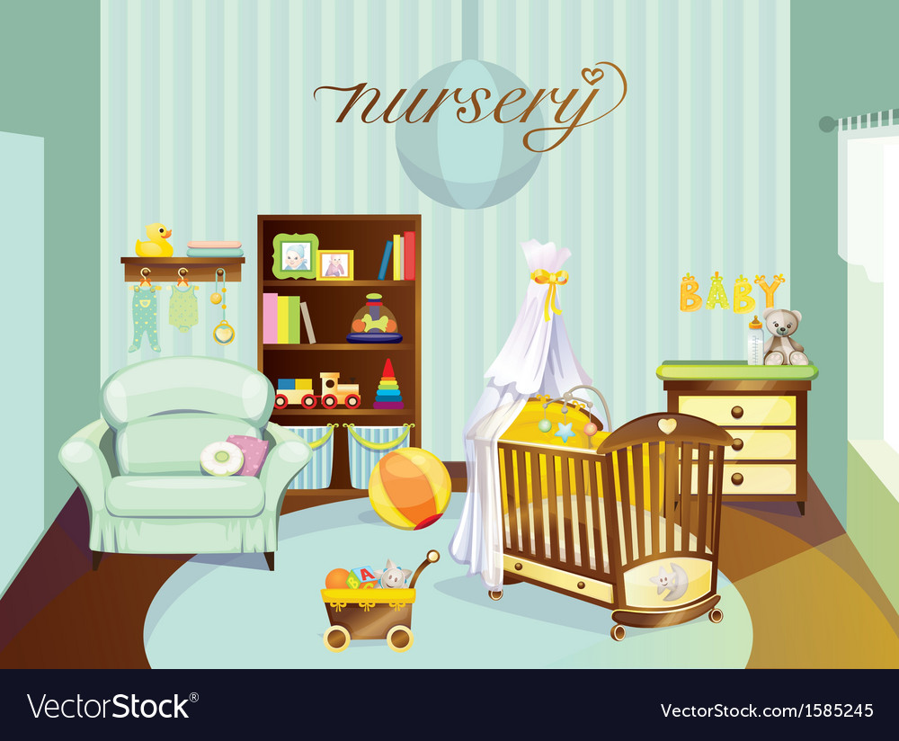 Nursery vector | Price: 3 Credit (USD $3)