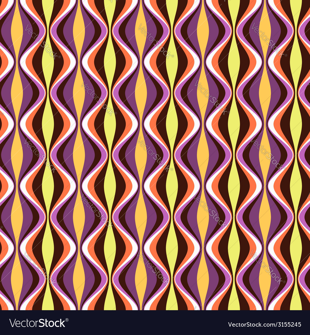 Pattern geometric waves color vector | Price: 1 Credit (USD $1)