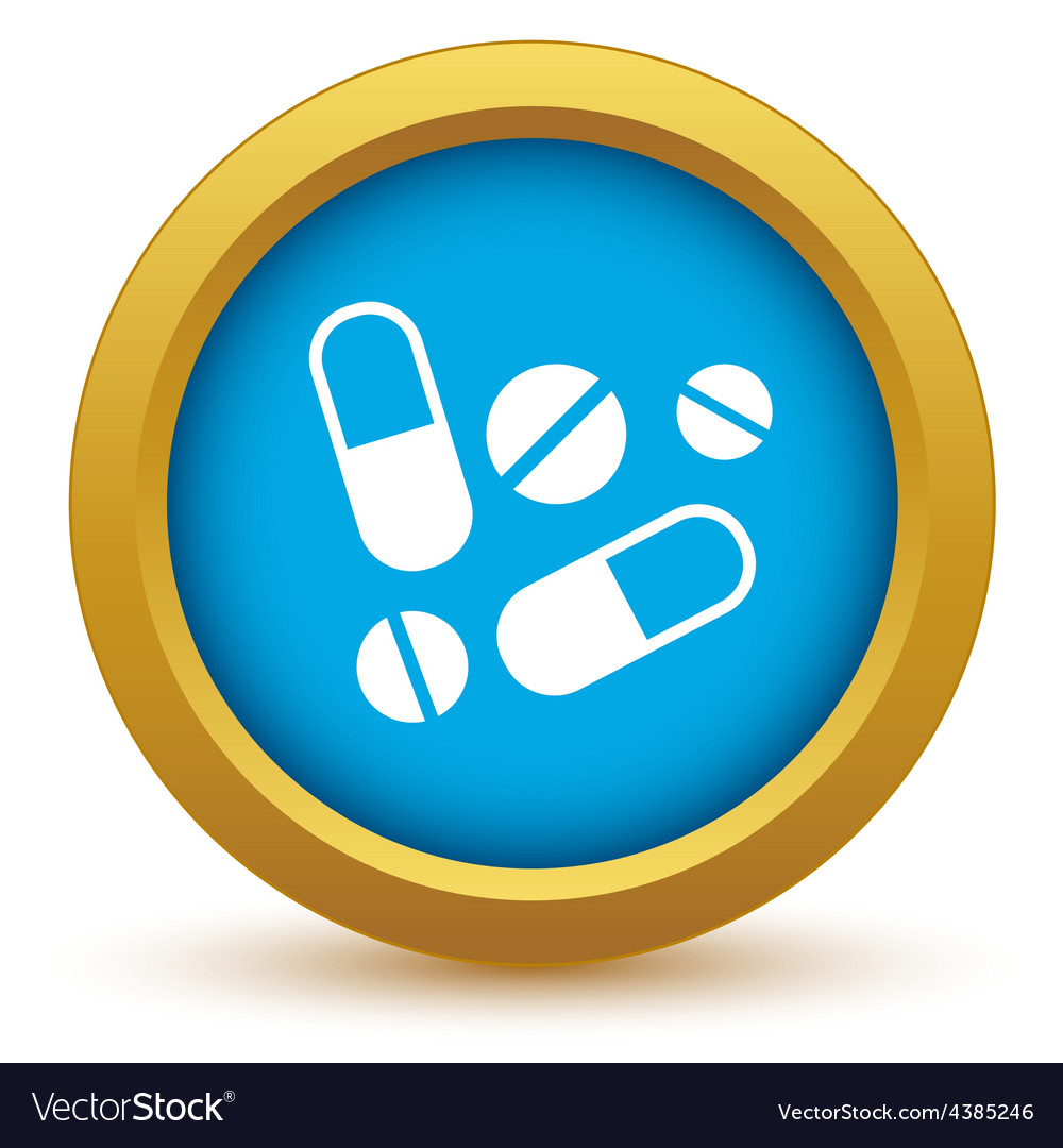 Gold tablets icon vector | Price: 1 Credit (USD $1)