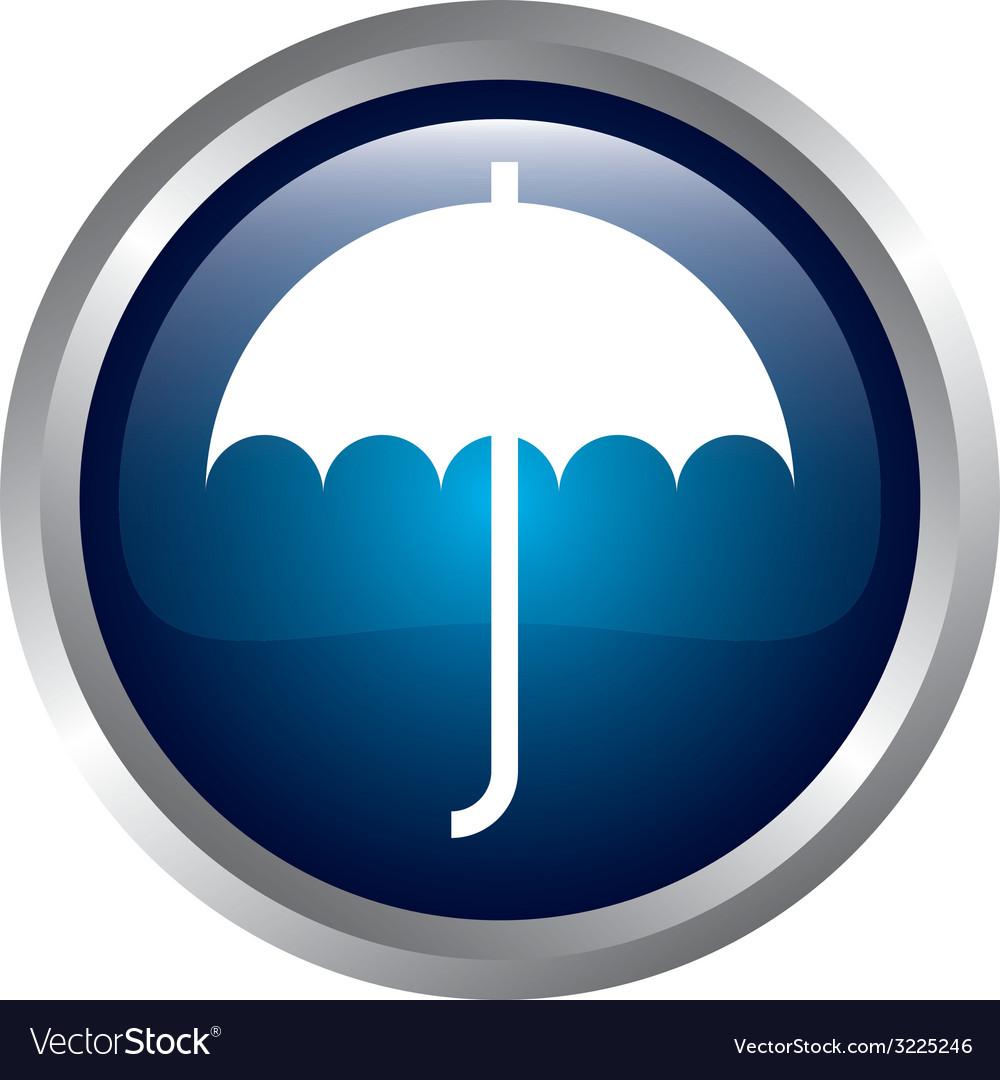 Umbrella design vector | Price: 1 Credit (USD $1)