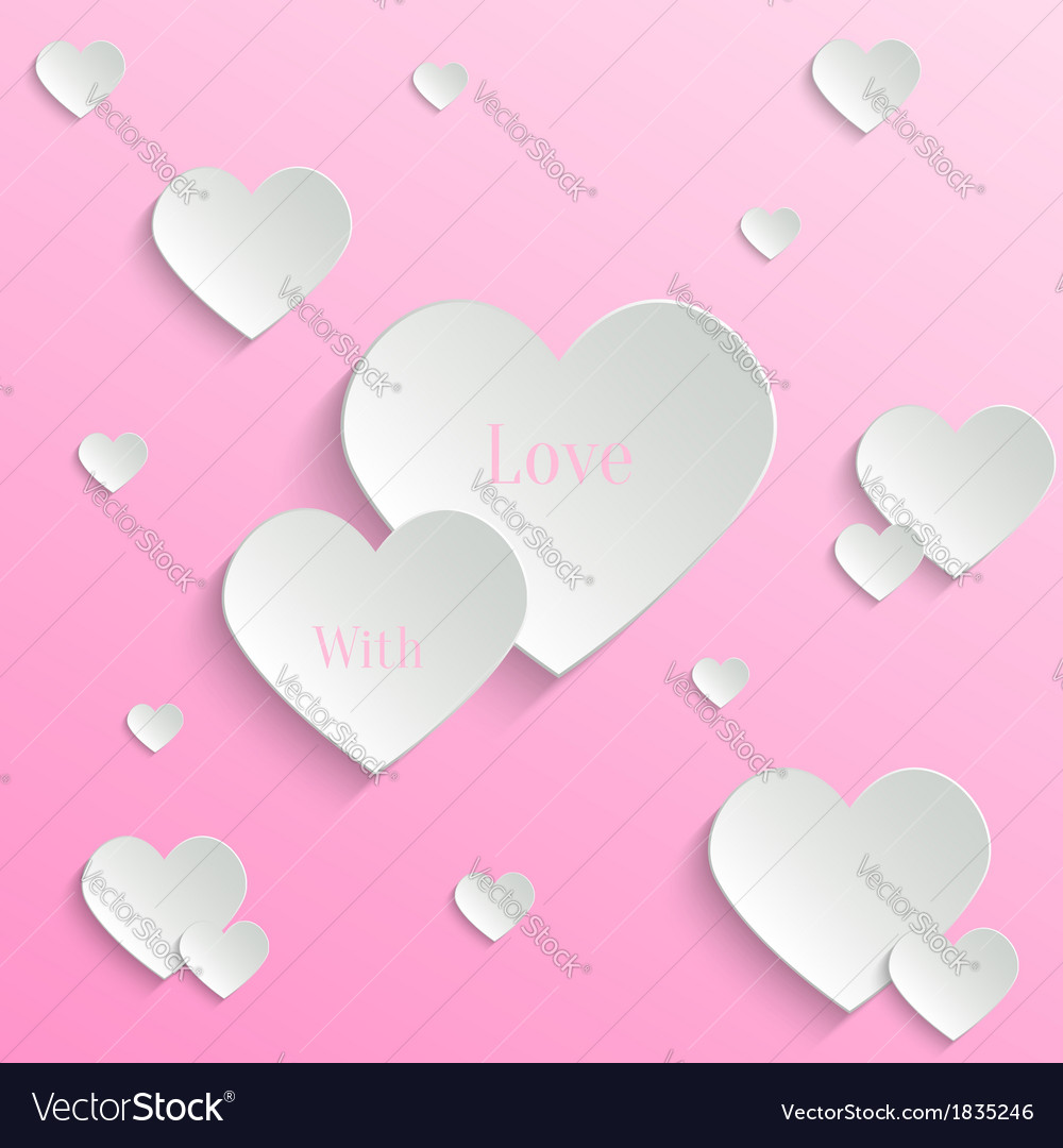 Valentines day backround vector | Price: 1 Credit (USD $1)