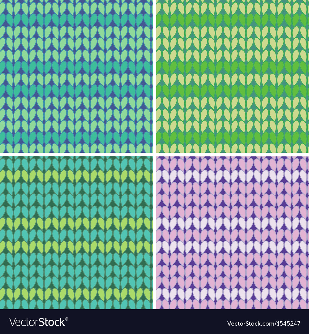 Knitted linen seamless vector | Price: 1 Credit (USD $1)