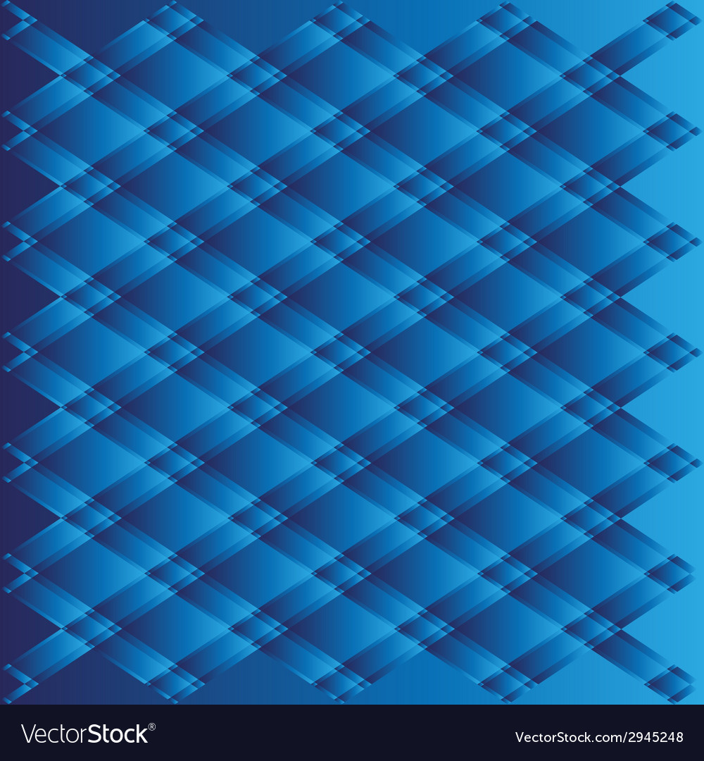 Blue texture geometric on white background vector | Price: 1 Credit (USD $1)