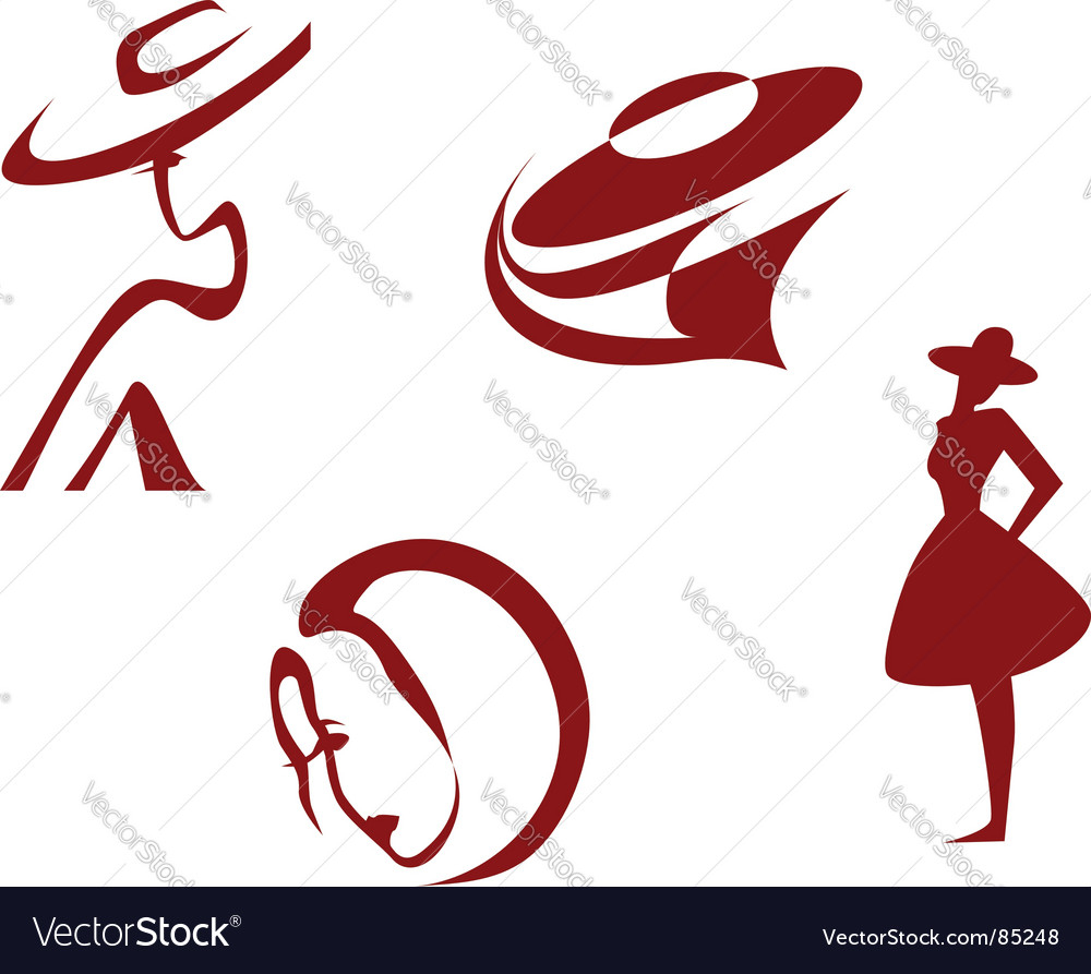 Fashion signs vector | Price: 1 Credit (USD $1)