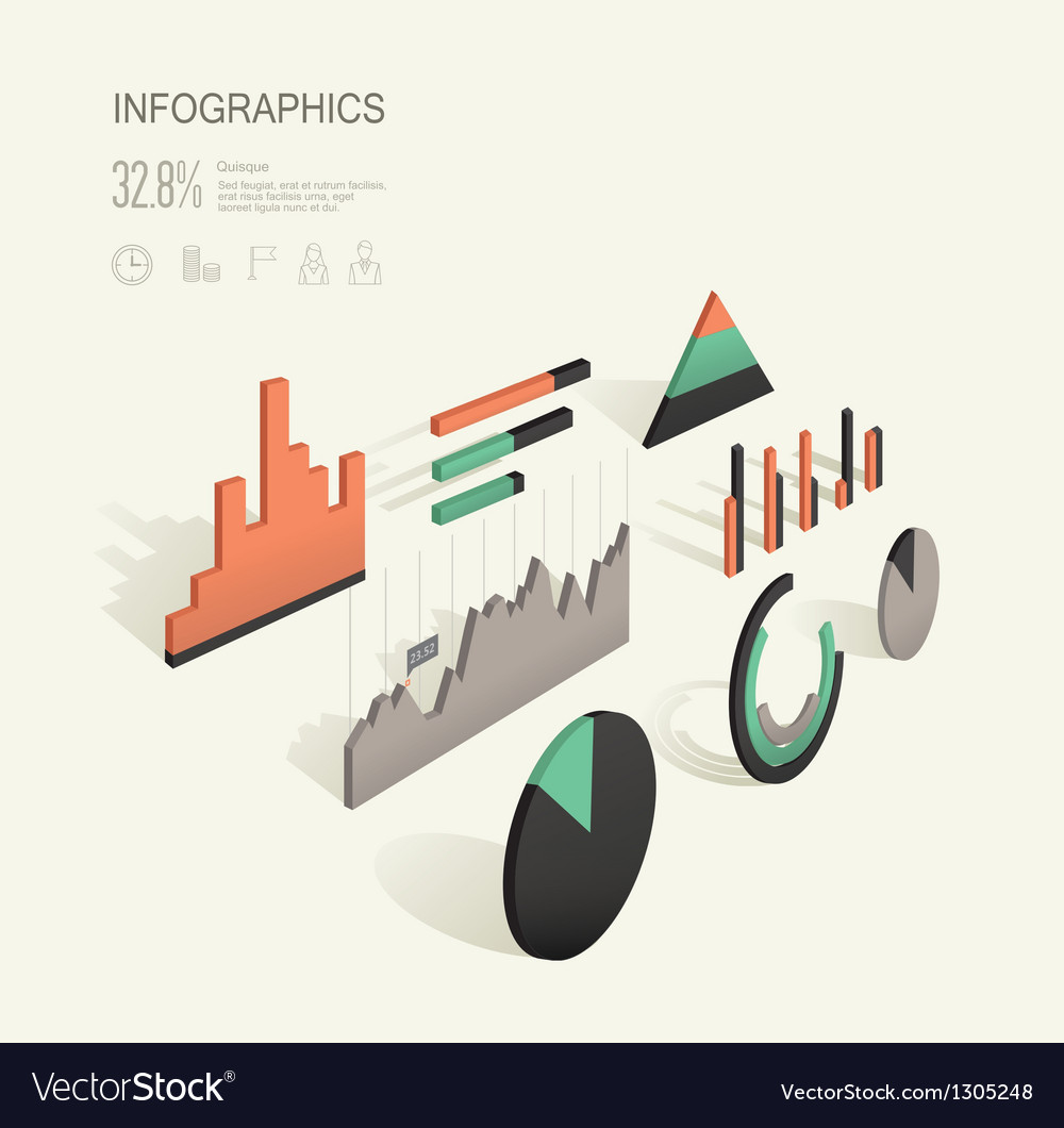 Infographic 3d vector | Price: 1 Credit (USD $1)