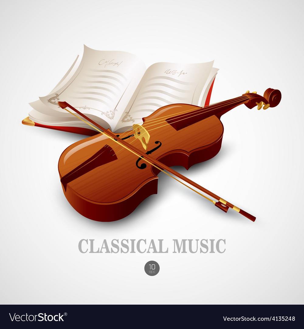 Violin vector | Price: 3 Credit (USD $3)