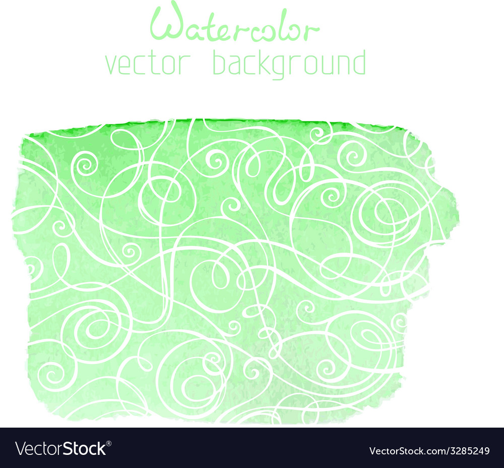 Abstract hand-drawn watercolor background vector | Price: 1 Credit (USD $1)