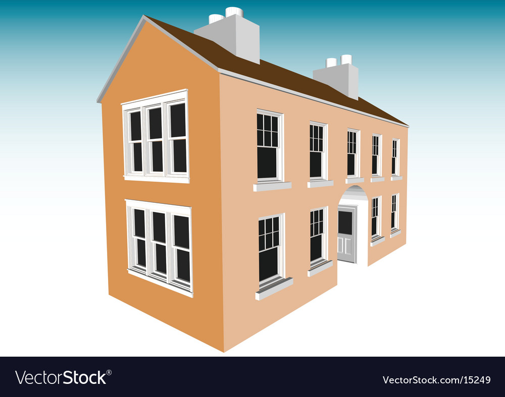 Dream home vector | Price: 1 Credit (USD $1)