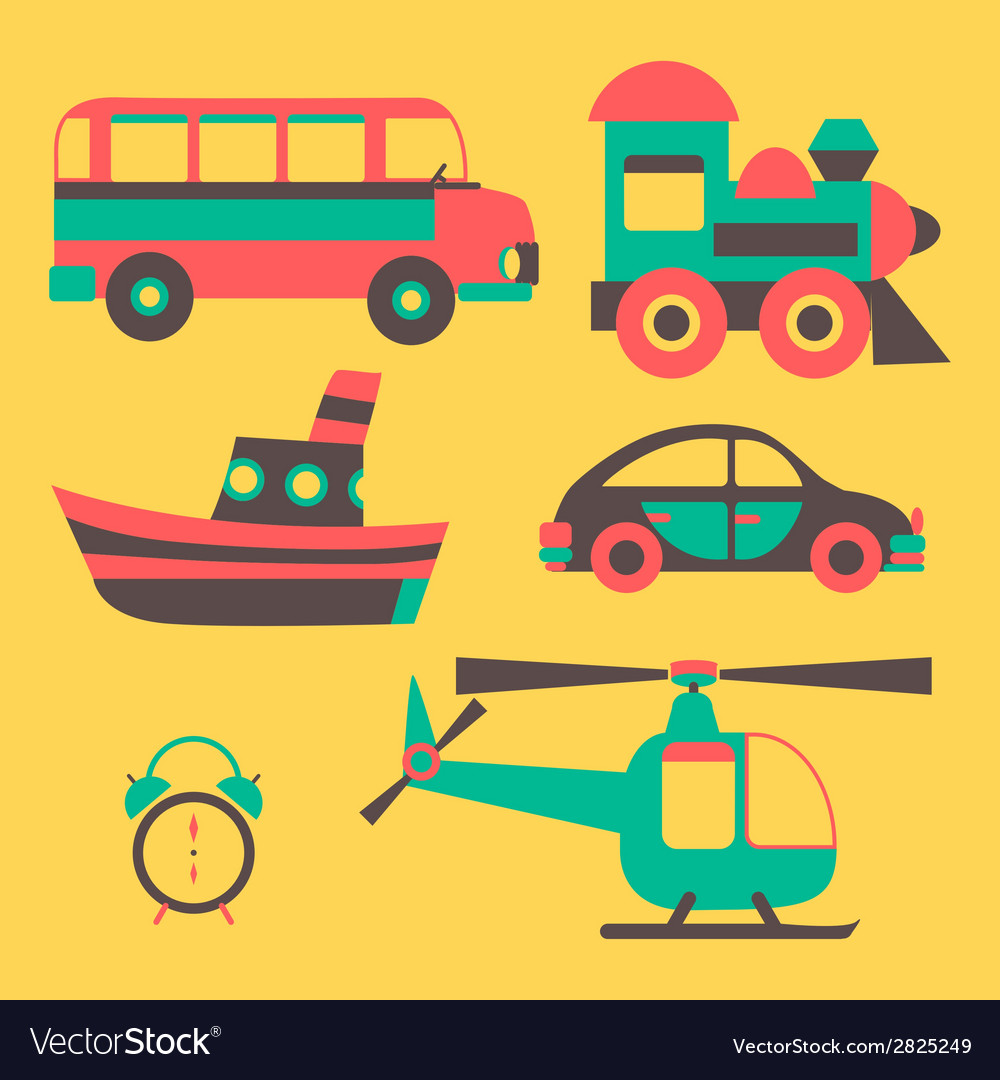 Icons transport vector   Price: 1 Credit (USD $1)