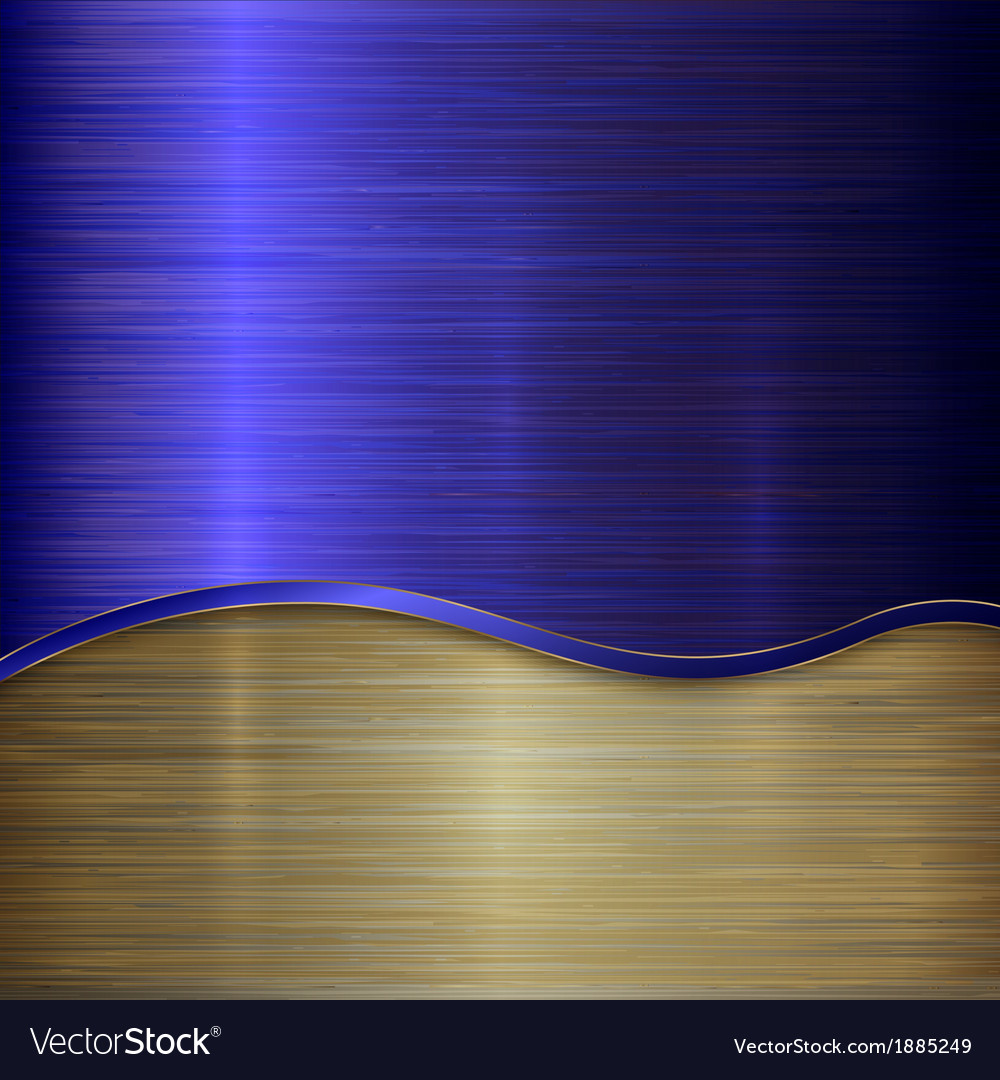 Metallic background with curve vector | Price: 1 Credit (USD $1)