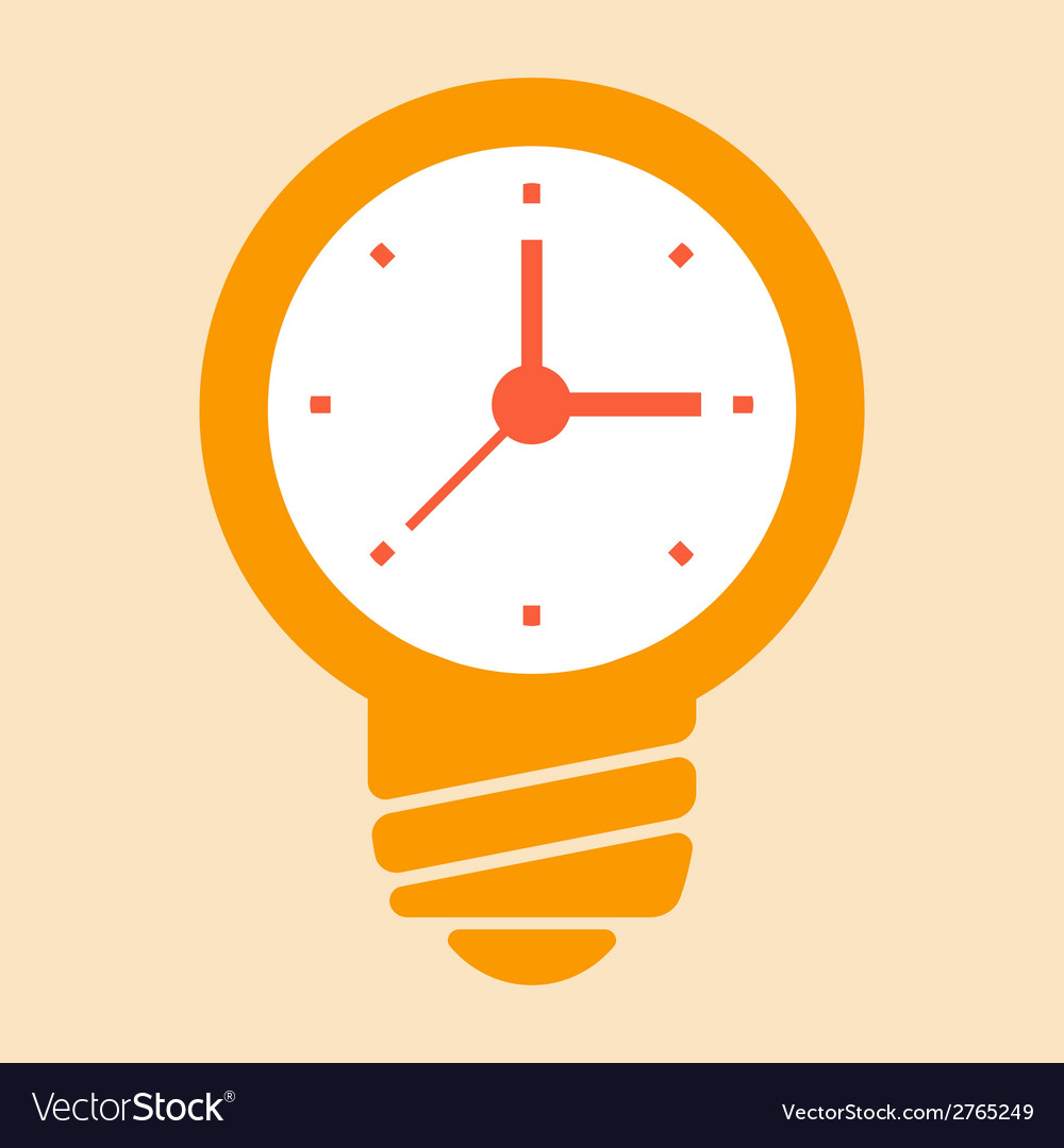 Time ideas vector | Price: 1 Credit (USD $1)