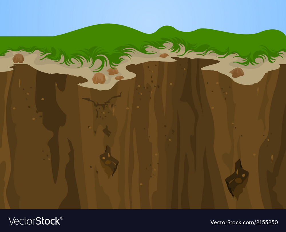 Cliff nature vector | Price: 1 Credit (USD $1)