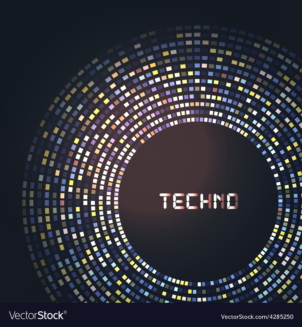 Technology round for your logo template can be vector | Price: 1 Credit (USD $1)