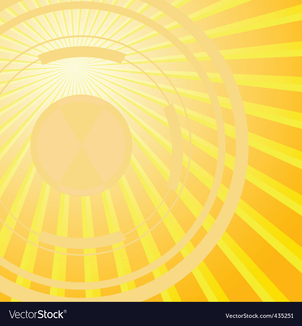 Ct solar background vector illustration vector | Price: 1 Credit (USD $1)