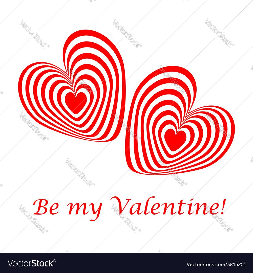 Design valentines day card vector | Price: 1 Credit (USD $1)