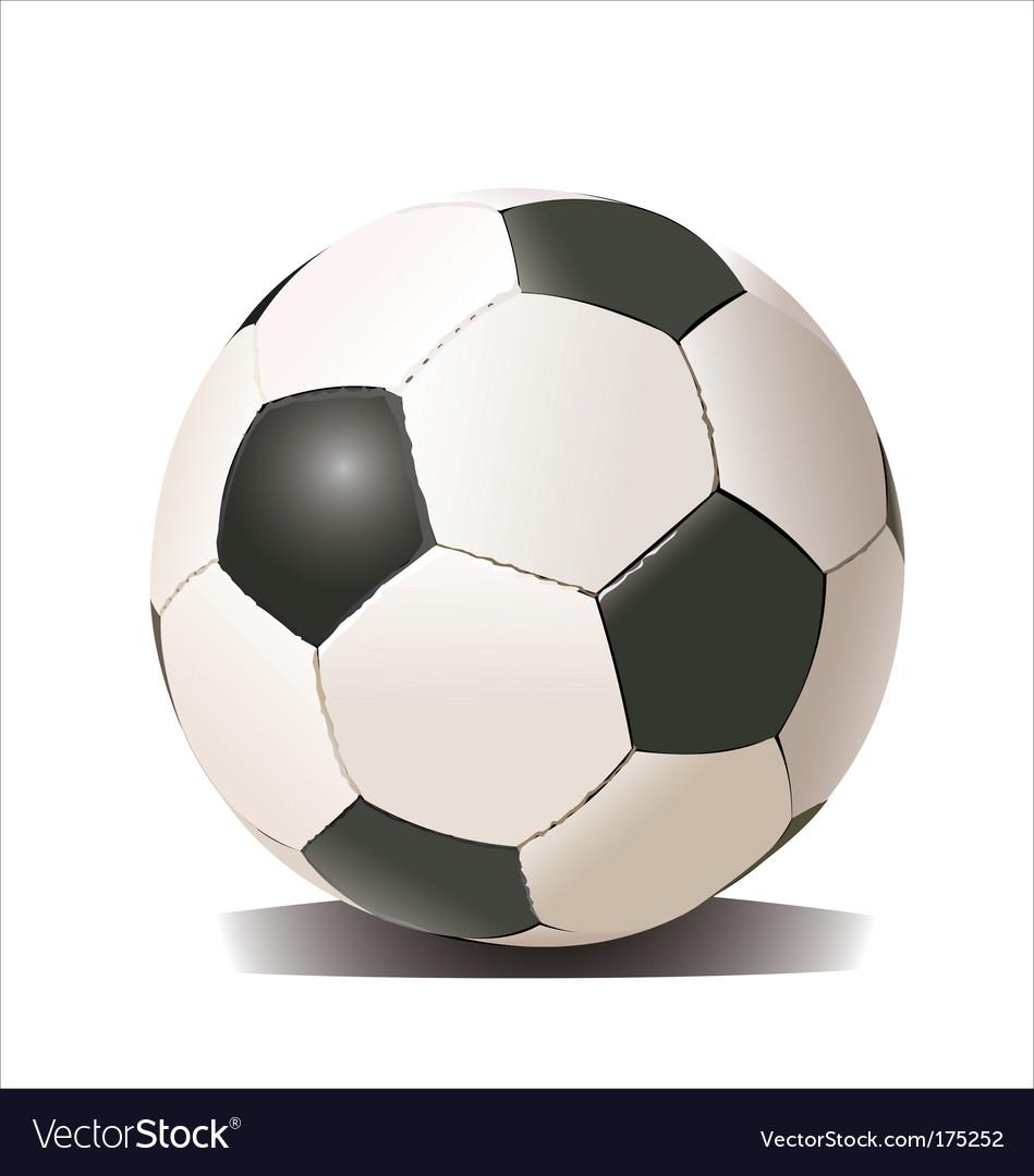 Football soccer ball vector | Price: 1 Credit (USD $1)