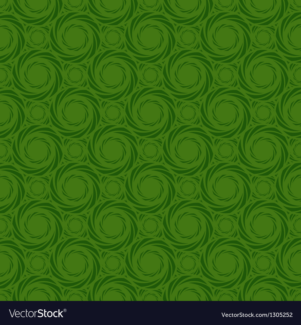 Green colors pinwheel pattern vector | Price: 1 Credit (USD $1)