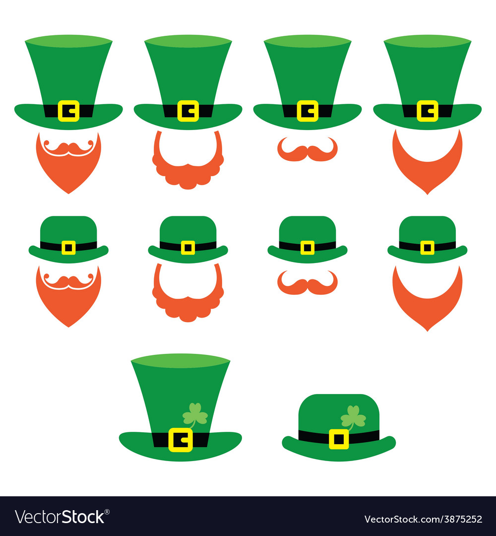 Leprechaun character for st patricks day vector | Price: 1 Credit (USD $1)