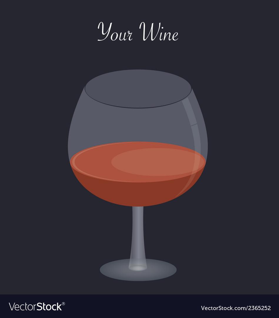 Red wine vector | Price: 1 Credit (USD $1)