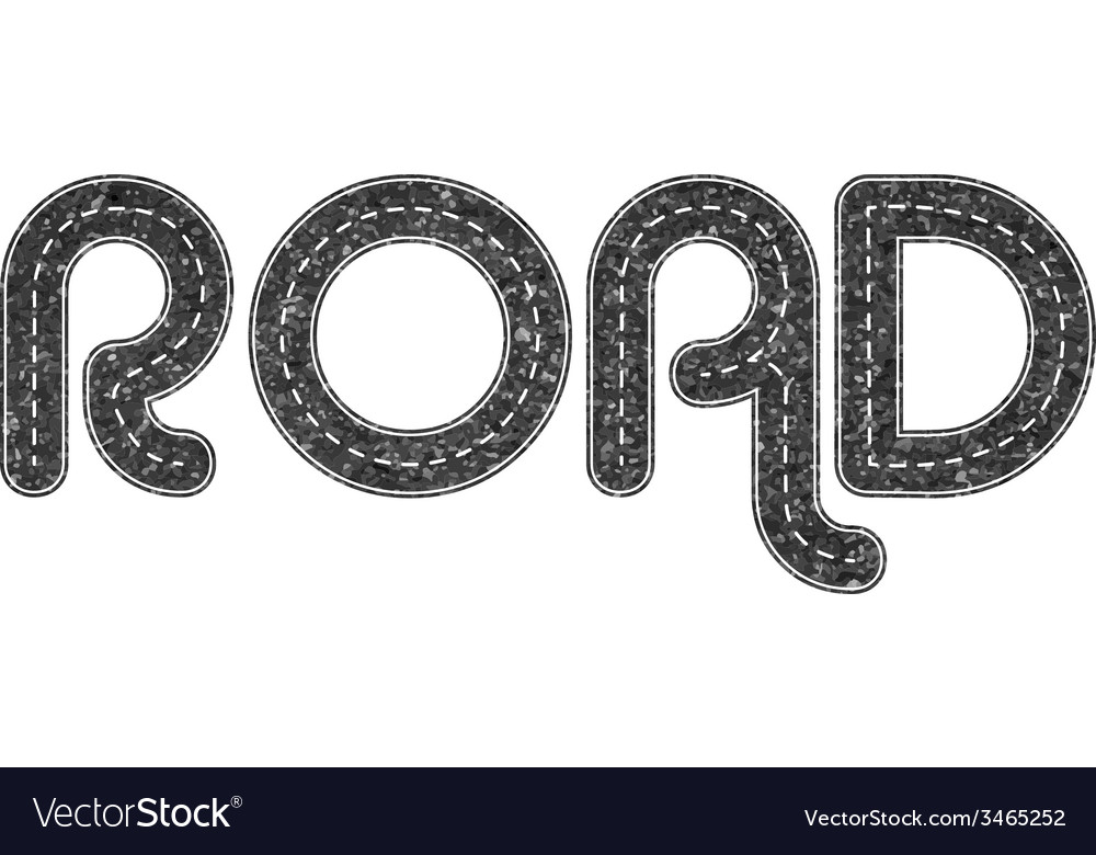 Road elements vector   Price: 1 Credit (USD $1)