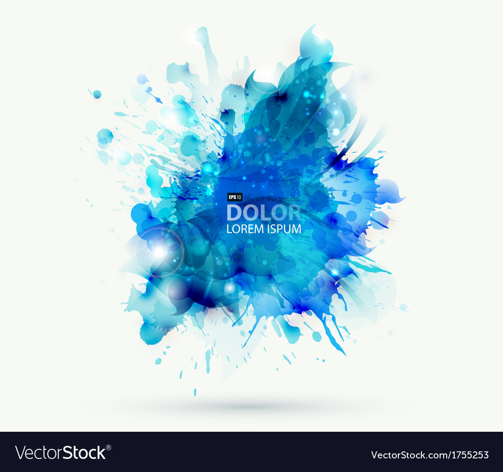 Abstract blots vector