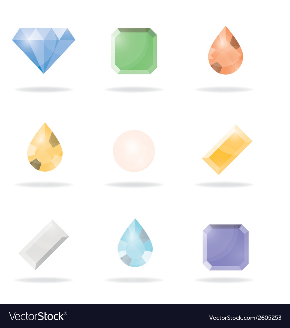 Icon 9gems vector | Price: 1 Credit (USD $1)