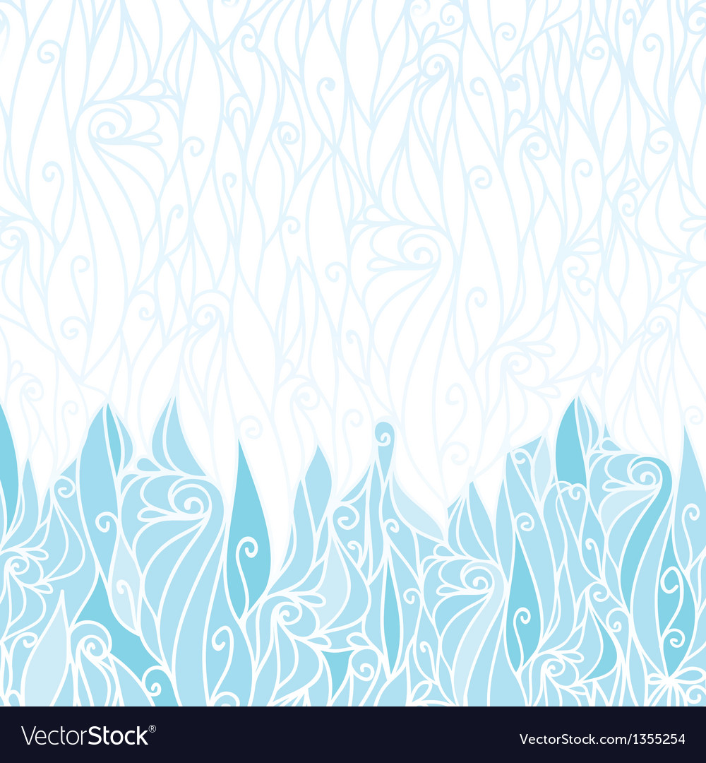 Abstract frost swirls texture horizontal seamless vector | Price: 1 Credit (USD $1)