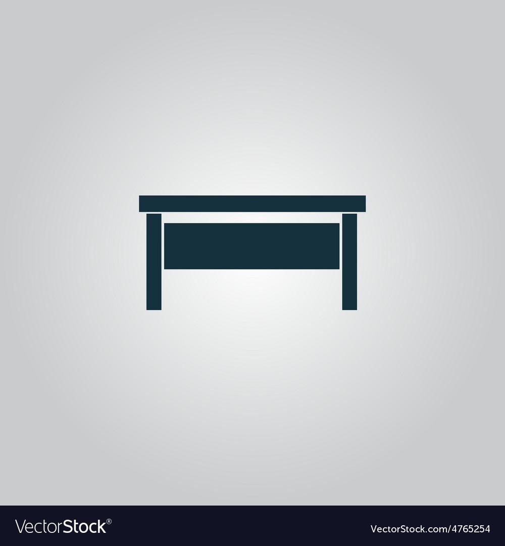 Writing desk vector | Price: 1 Credit (USD $1)