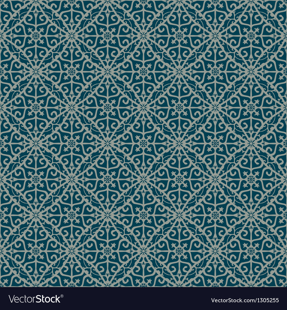 Blue and gray colors plaid pattern vector | Price: 1 Credit (USD $1)