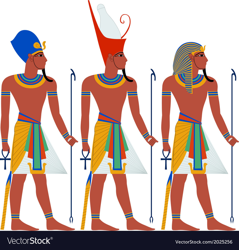 Ancient egypt pharaoh pack for passover vector | Price: 1 Credit (USD $1)