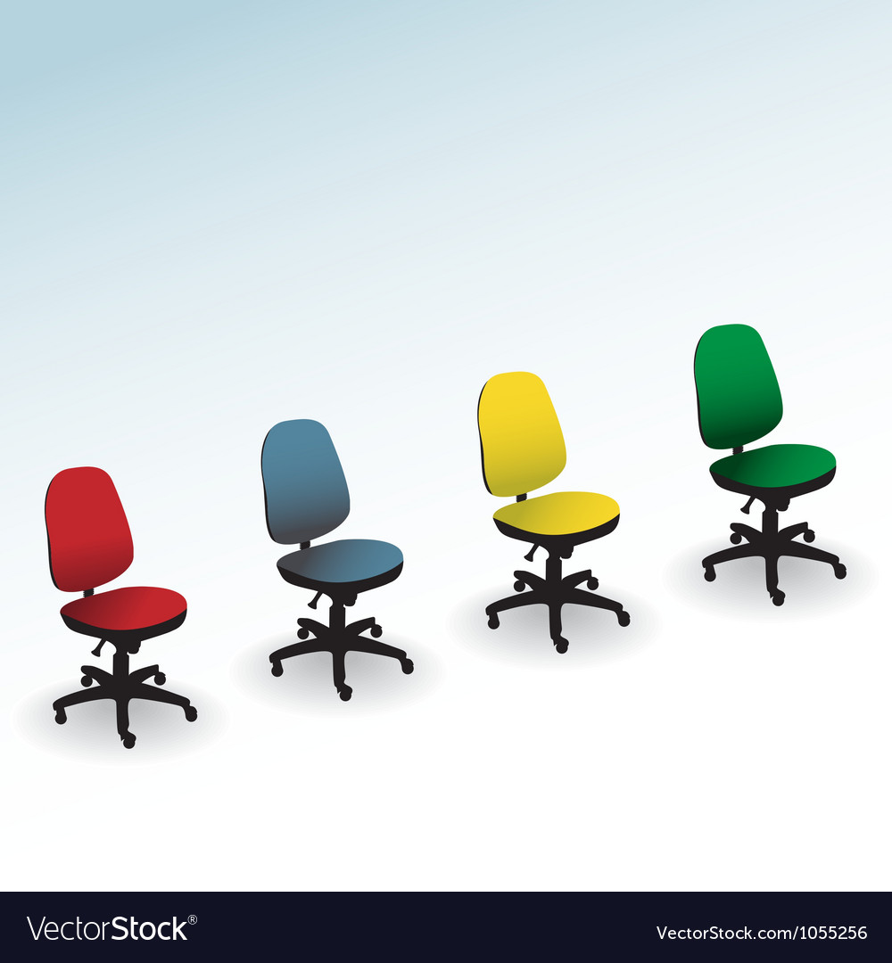 Office chairs vector | Price: 1 Credit (USD $1)